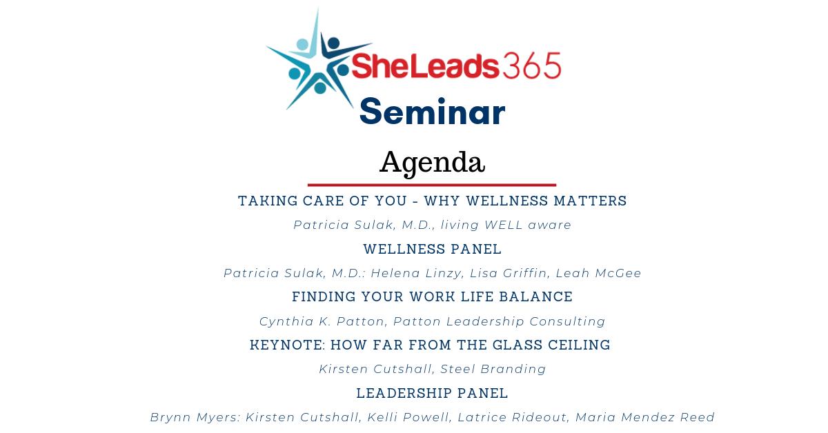 SheLeads365 Agenda